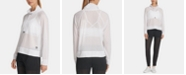 DKNY Sport Mesh Funnel-Neck Top, Created for Macy's
